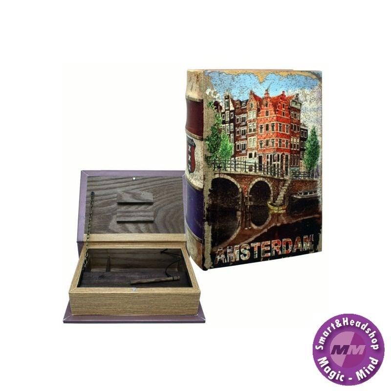 Stash STASH BOOK - AMSTERDAM CANAL - SMALL