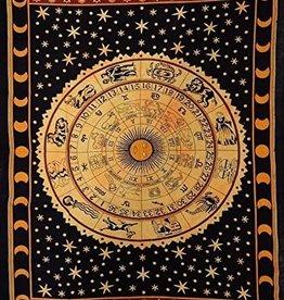 Indische Astrologie Wandkleed, Indische Astrologie