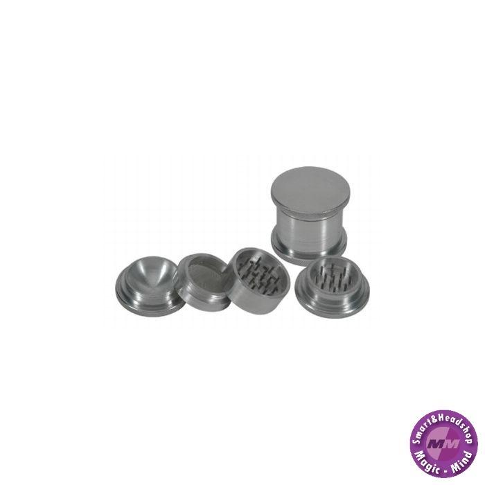Aluminium Grinder Aluminium (Ø 55 mm, 4 Parts)