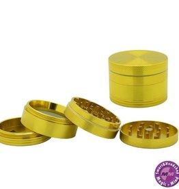Aluminium Grinder Aluminium (Ø 55 mm, 4 Parts), Gold