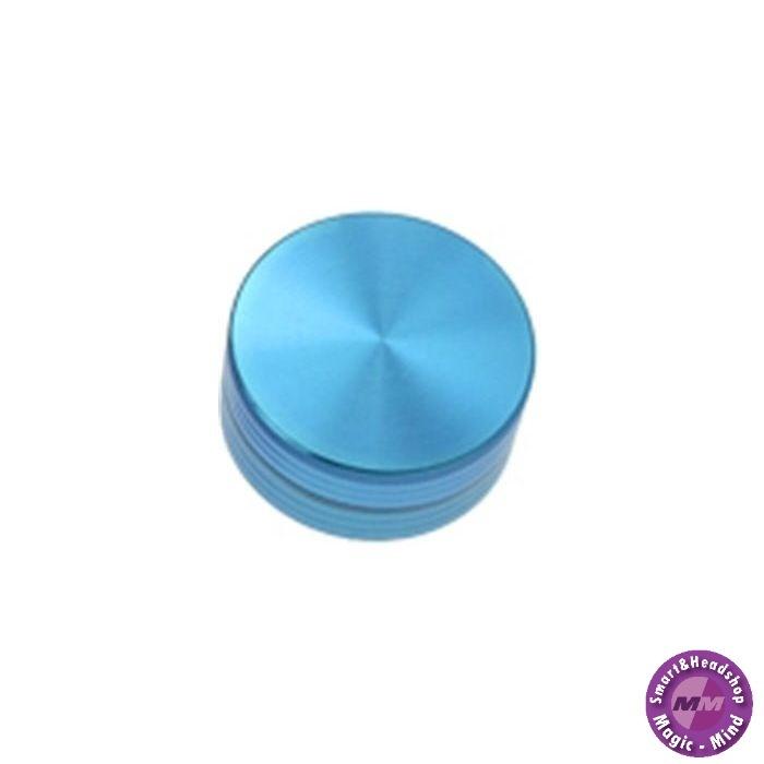 Aluminium Grinder Aluminium Anodised (Ø 50 mm, 2 Parts), Blue