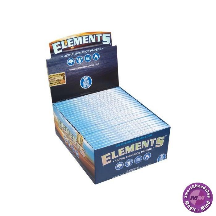 Elements Elements King Size Slim (BOX/50-32l)