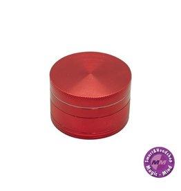 Aluminium Grinder Aluminium (Ø 55 mm, 4 Parts), Red