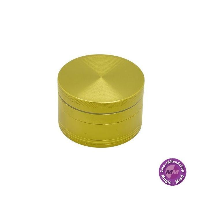 Aluminium Grinder Aluminium (Ø 62 mm, 4 Parts), Gold