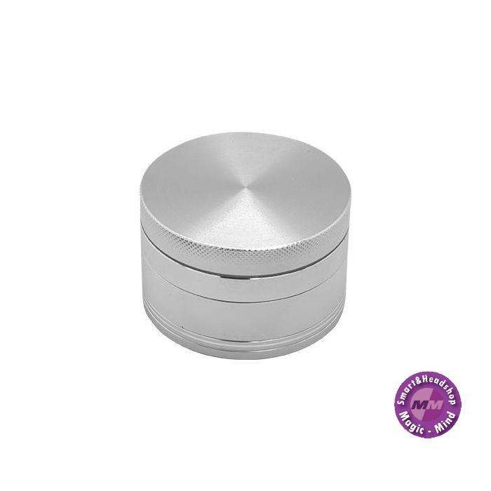 Aluminium Grinder Aluminium (Ø 62 mm, 4 Parts), Silver