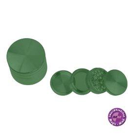 Aluminium Grinder Aluminium (Ø 55 mm, 4 Parts), Green