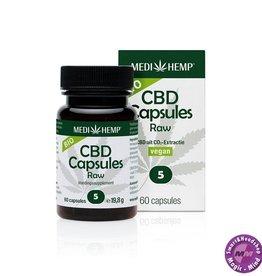 Medihemp CBD Capsules Medihemp Bio (vegan) with 5% CBD