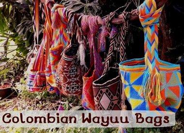 Handmade Colombian Wayuu Bags