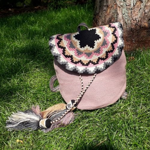 Original Handmade Wayuu Bag - Backpack