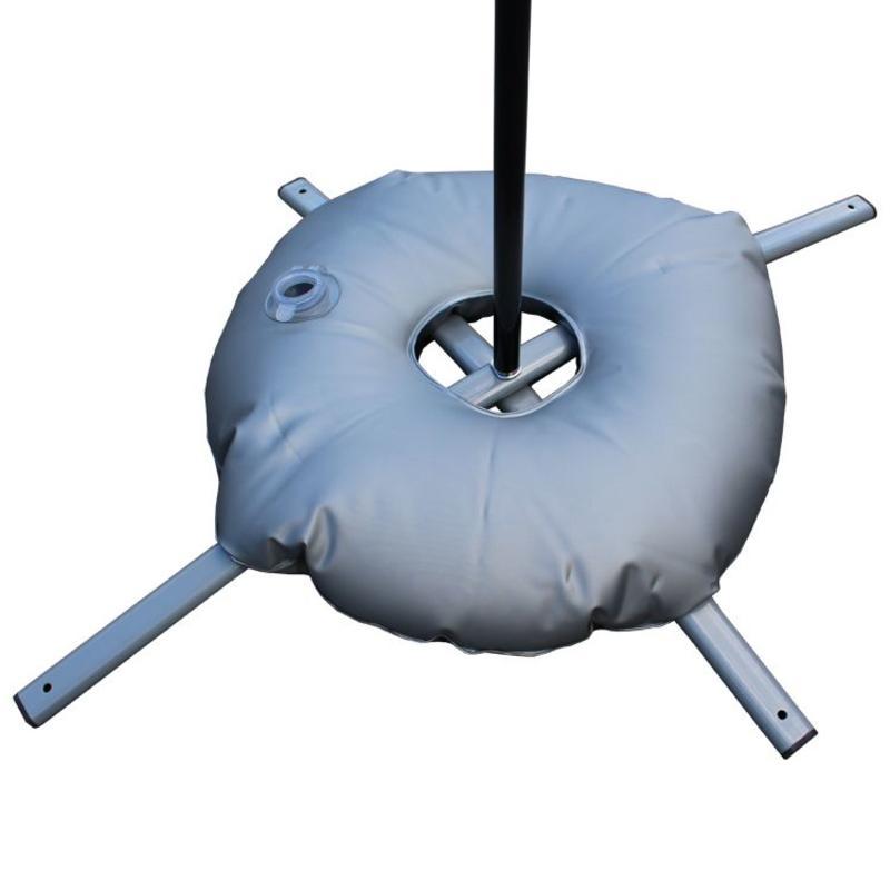 Kryssfot, grå med vannpose grå