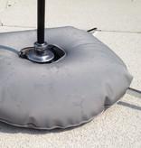 Luksus kryssfot med vannpose grå