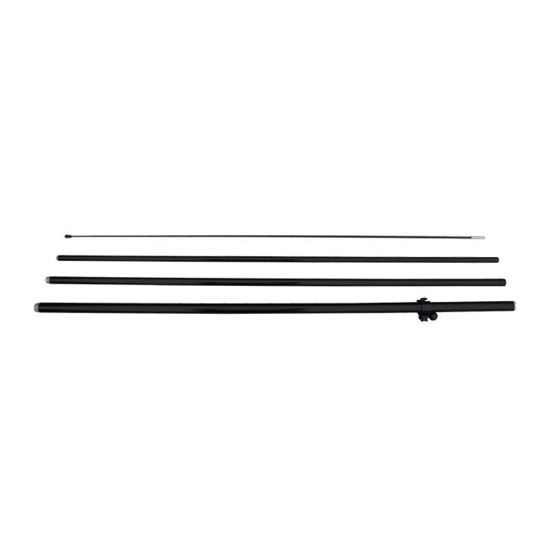 Beachflaggstang M for dobbelsidige flagg, svart