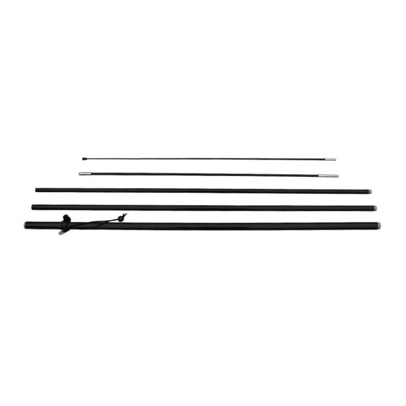 Beachflaggstang L, svart