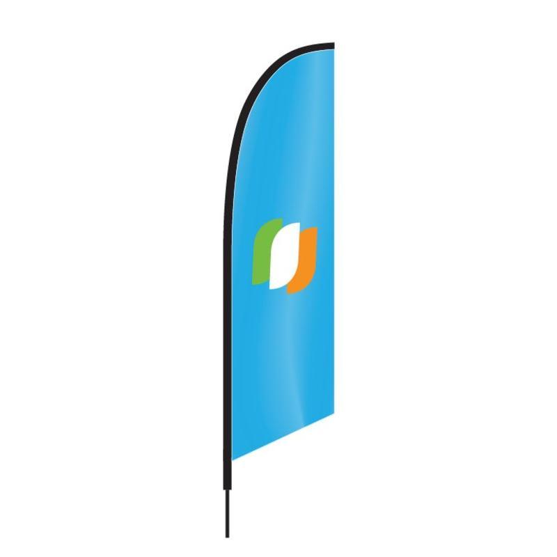 Beachflagg Angled