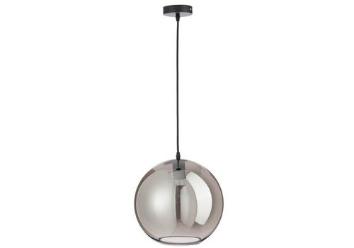 J-Line Lamp Bol Glas Smoke grey Large