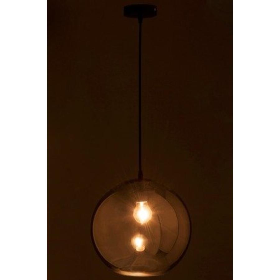 Lamp Bol Glas smoke grey Large