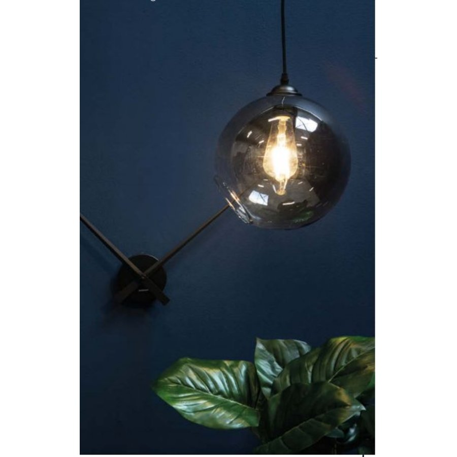 Smoke Grey Bol Lamp