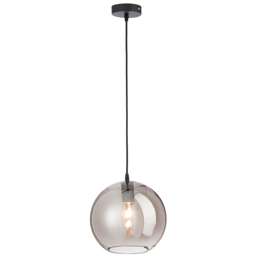 Lamp Bol Glas Smoke grey Medium