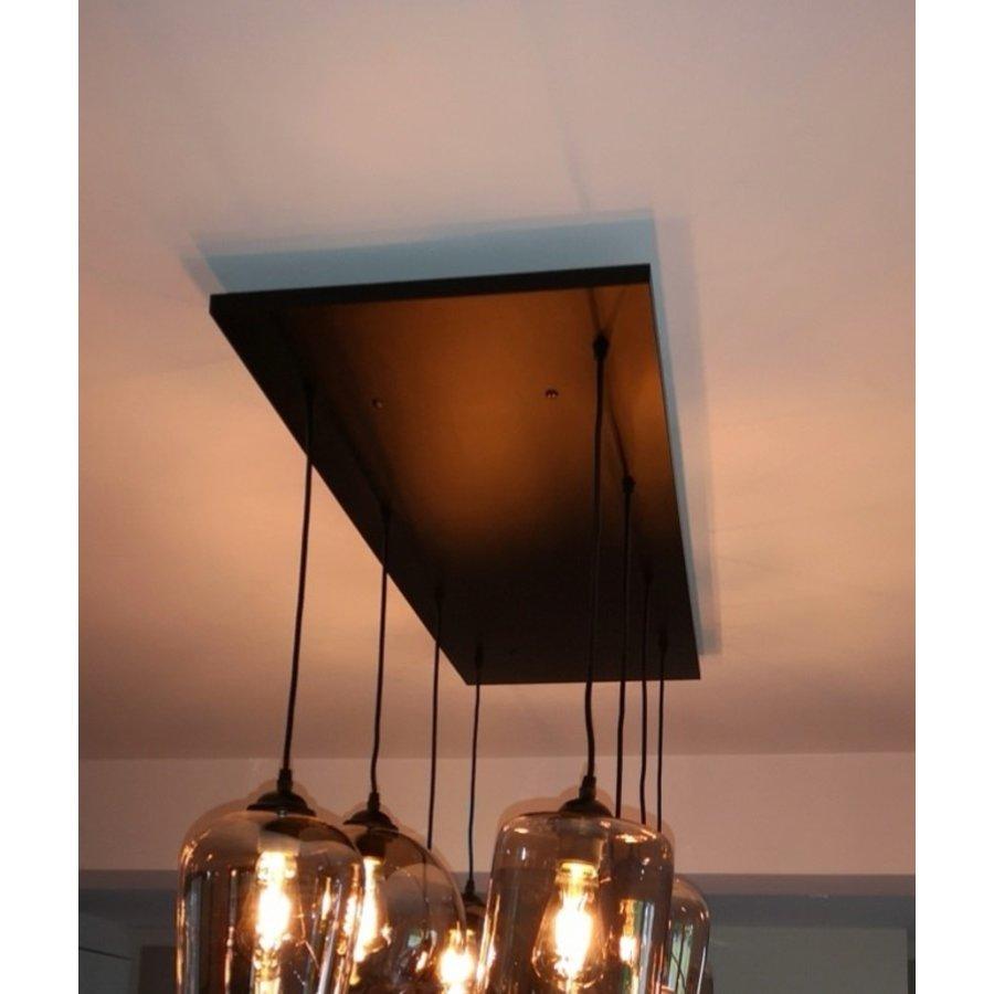 Plafond paneel 8 lichts 120 x 40 cm
