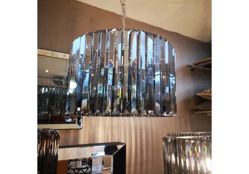 Smoke crystal lamp 40 cm Eric kuster style