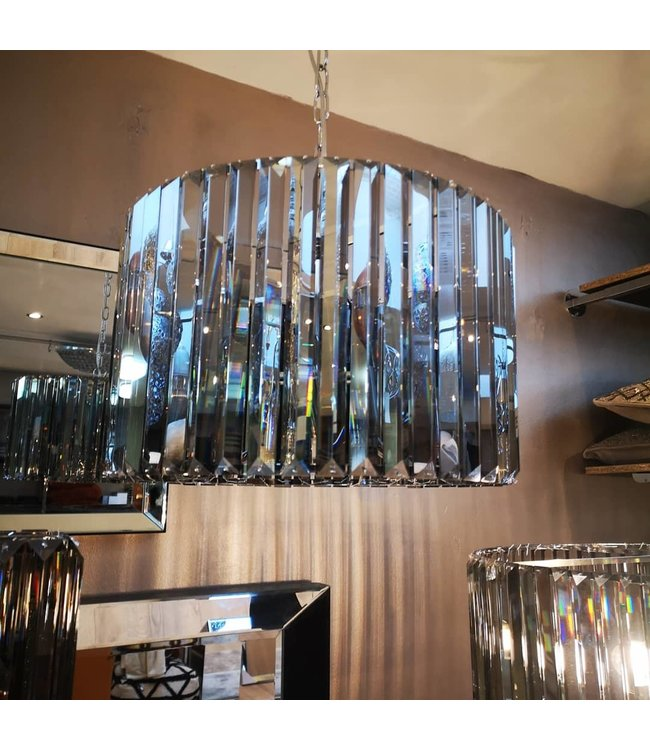 Smoke crystal lamp 40 cm Hollywood style