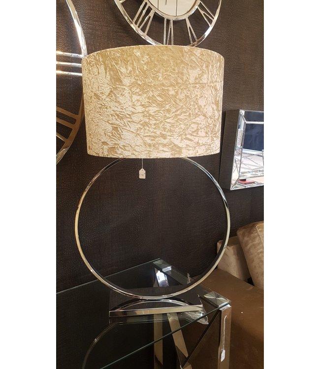 Ring tafellamp Hollywood style