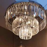 Merlano Cascata 3-layers Silver crystal