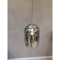 Eettafel Lamp Dubai smoked glas
