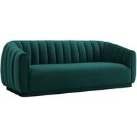 Bank Lorena 3-zits Green Velvet (Quartz Green 501) S5110 GREEN VELVET