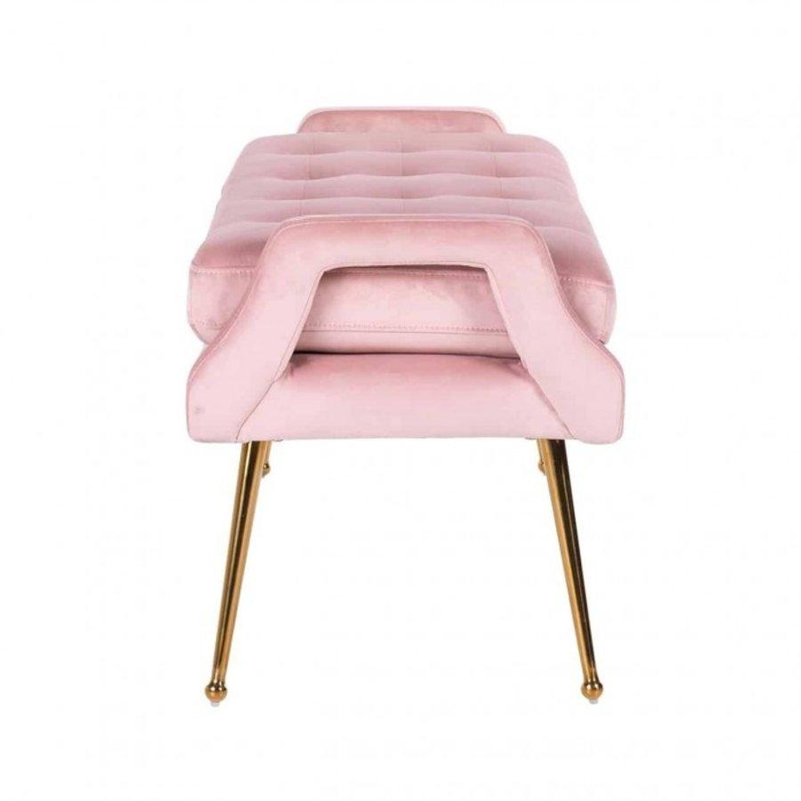 Bank Rebel Pink Velvet / gold (Quartz Pink 700) S4493 PINK VELVET