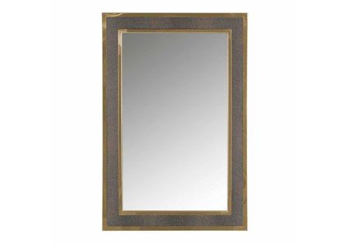 Richmond Interiors Spiegel Bara met gouden rand (Goud) -MI-0045
