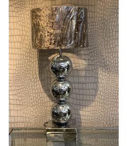 Bollen tafellamp - Zilver - Metropolitan style
