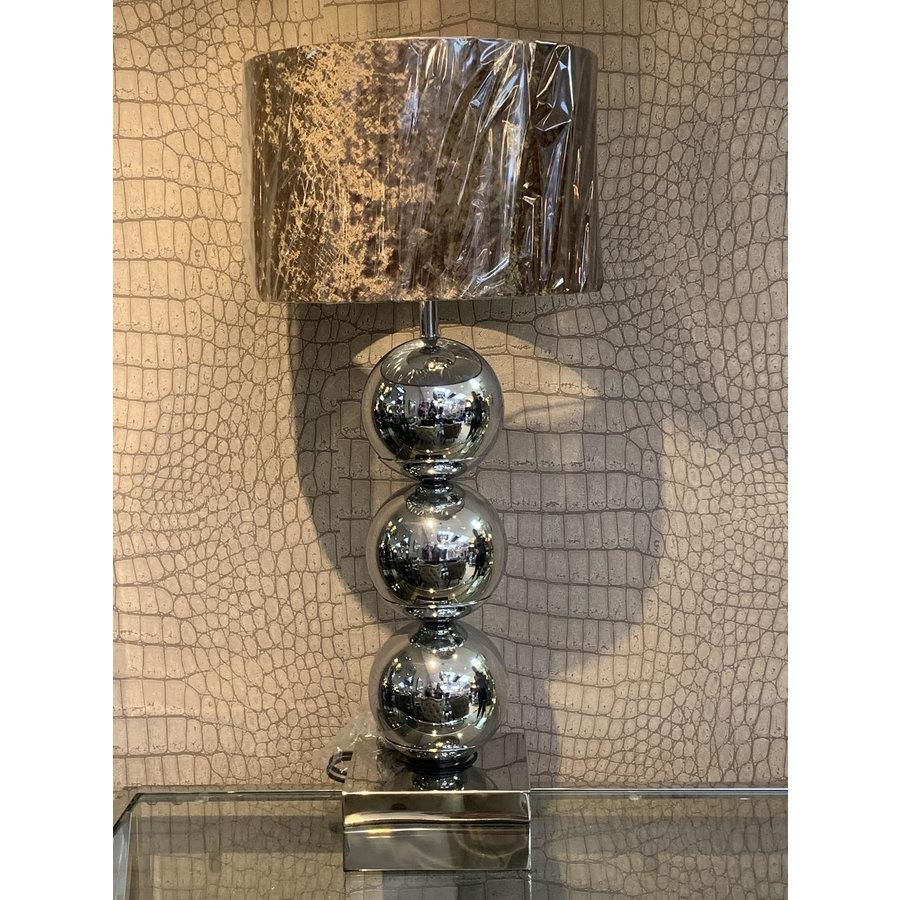 Bulbs table lamp - Silver - Metropolitan luxury style
