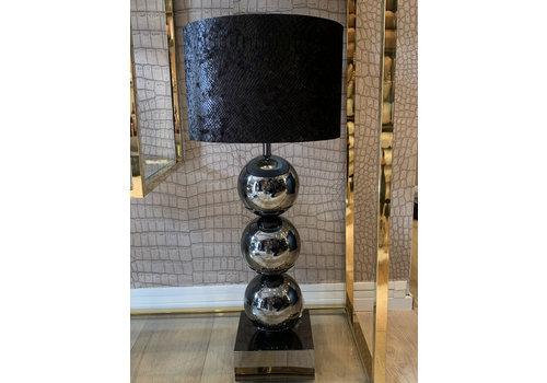 Bollen tafel lamp - Black Hollywood style