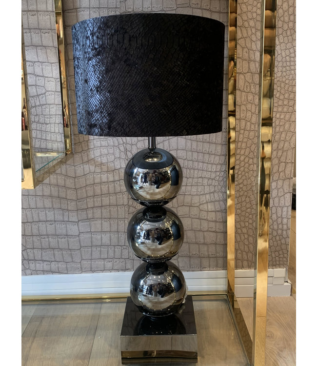 Bulbs table lamp - Black - Metropolitan style
