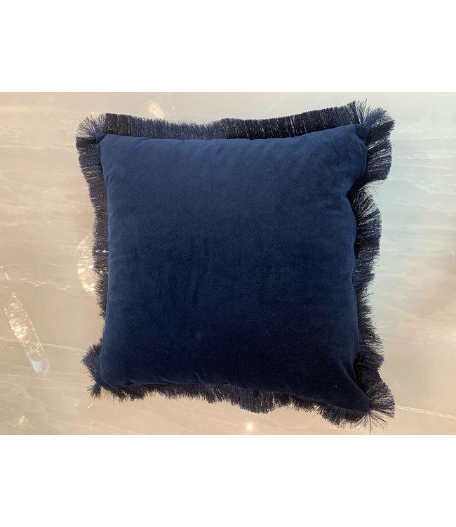 Sierkussen velvet Navy Blue