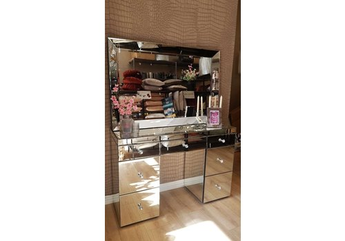 make-up tafel  mirror Bellamina