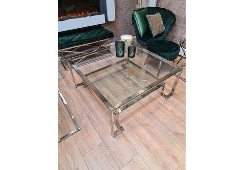 Zila Wonen Coffee table Chrome square
