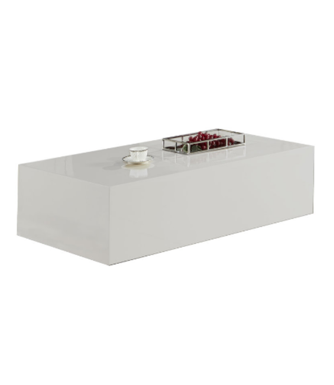 Salontafel Monde Blokvormig Wit 120 x 70 CM