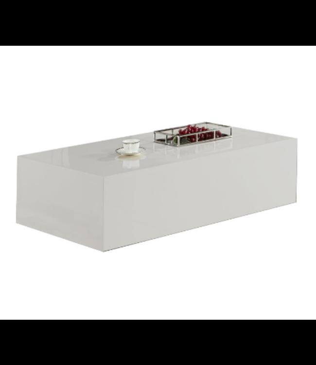 Salontafel Monde Blokvormig Wit 100 x 100 CM