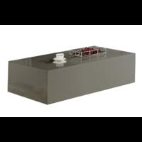 Salontafel Monde Blokvormig Grijs 100 x 100 CM