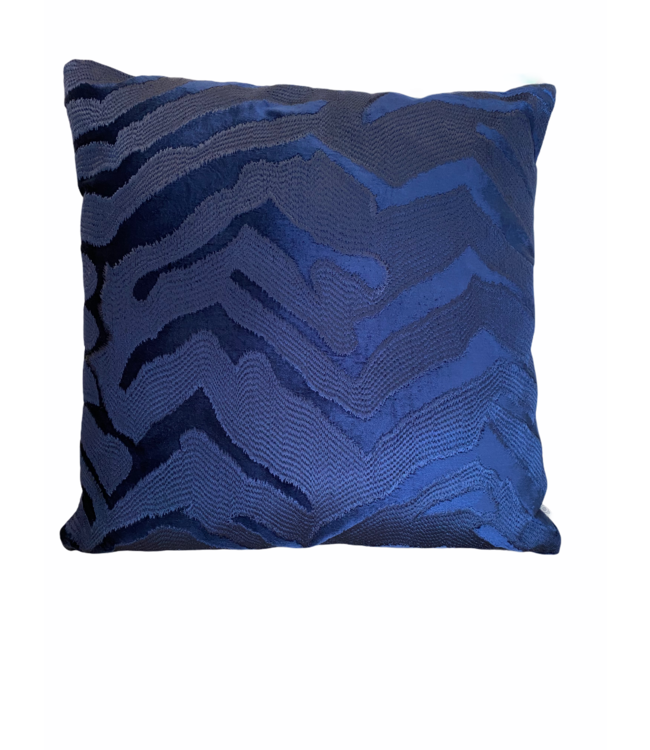 Kussen navy blue 50x50cm