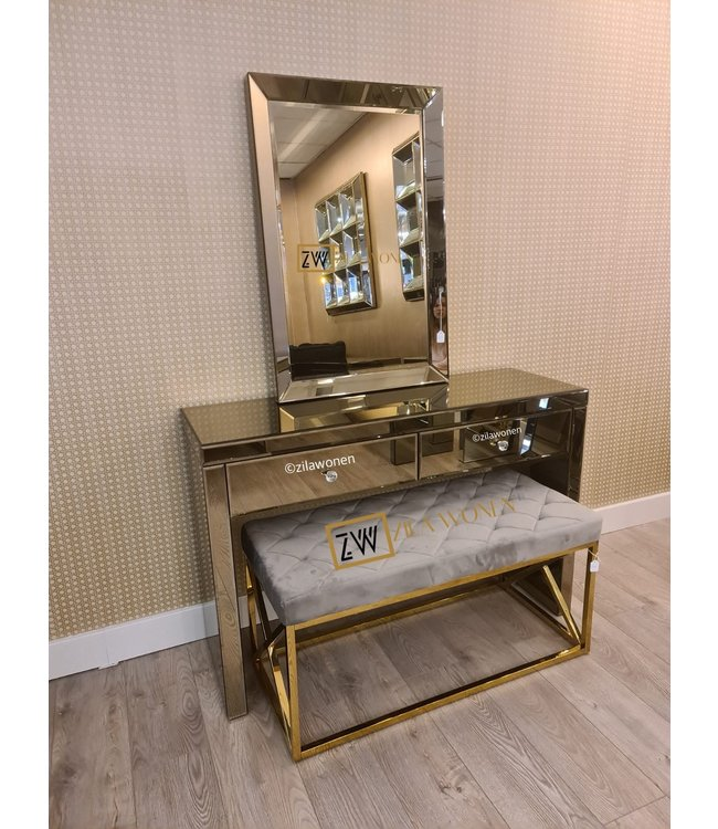 Dressing table SepiaGold 120cm