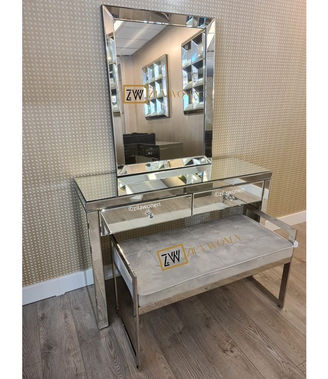 Dressing table Silver 120cm