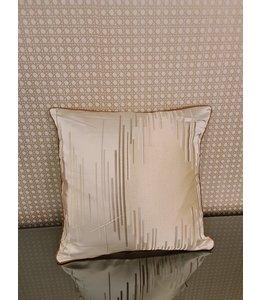Kussenhoes Lili gold&ecru 45x45 cm