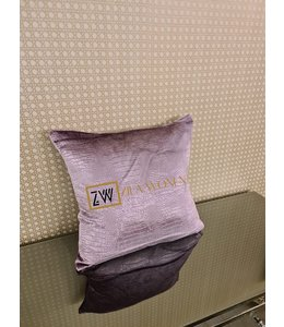 Cushion croco purple