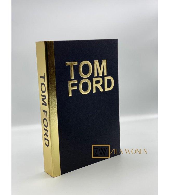 ZilaWonen Fashion book box Tom Ford black