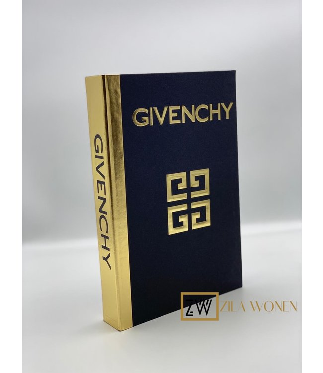 Zila Fashion book box Givenchy black