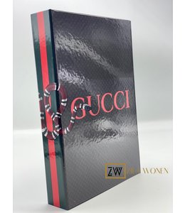 ZilaWonen Fashion book box Gucci red
