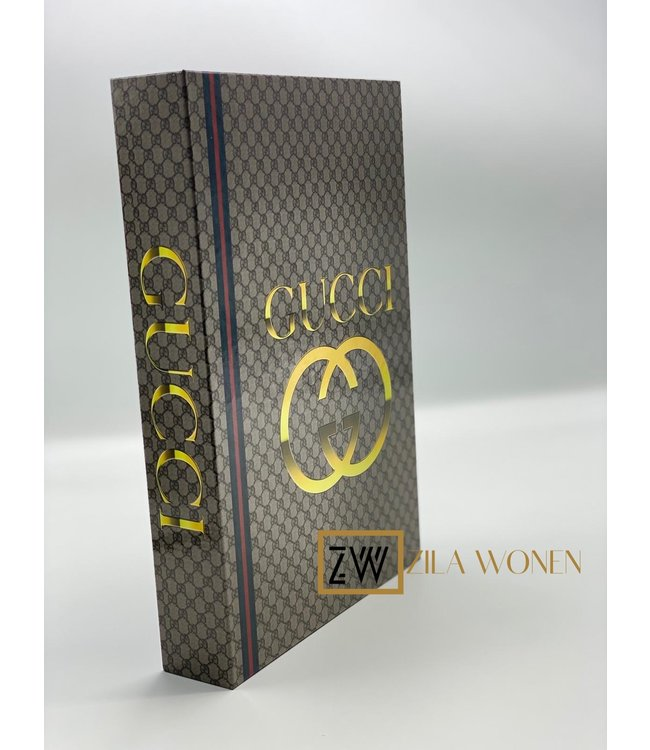 ZilaWonen Fashion book box Gucci